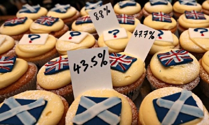 Referendum Cupcakes. Image: guardian.com