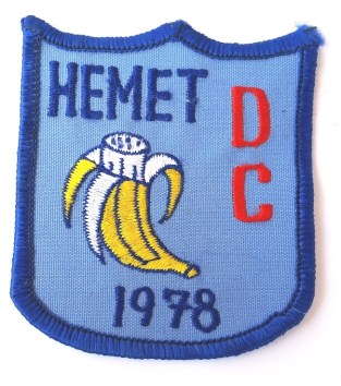 PATCH - Hemet DC 1978