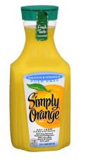 Simply Orange juice bottle