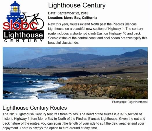 Lighthouse Century 2018