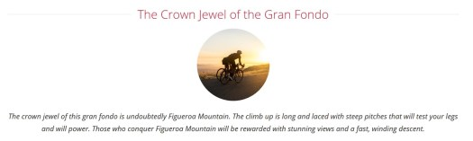 Figuero Mountain Gran Fondo Crown Jewel