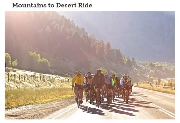 Mountains to Desert Ride