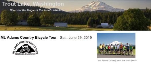Mt Adams Bicycle Tour 2019