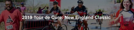 Tour de Cure: New England 2019