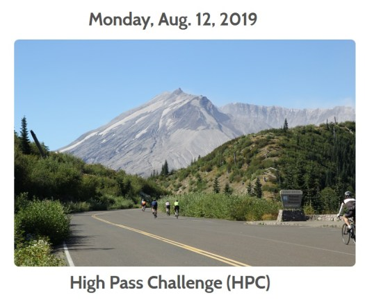 High Pass Challenge Bike Ride 2019