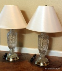 Lamp makeover | The Weekend Country Girl