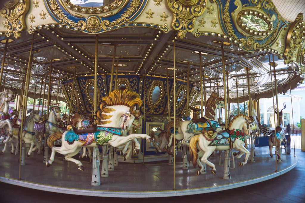 Dollywood, Tennessee, carousel