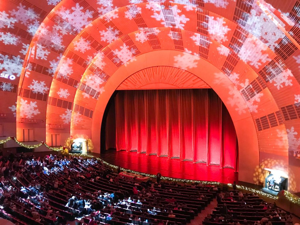 Radio City Rockettes, NYC, Holidays