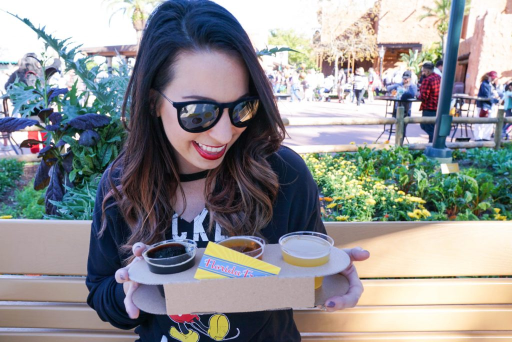 Epcot Flower and Garden Festival 2018, Florida Fresh, World Showcase, Food Favorites, Eat Around the World, Walt Disney World, Epcot Festival, What to Eat at Epcot, #disneytips #festivalfood #waltdisneyworld #disneyblogger