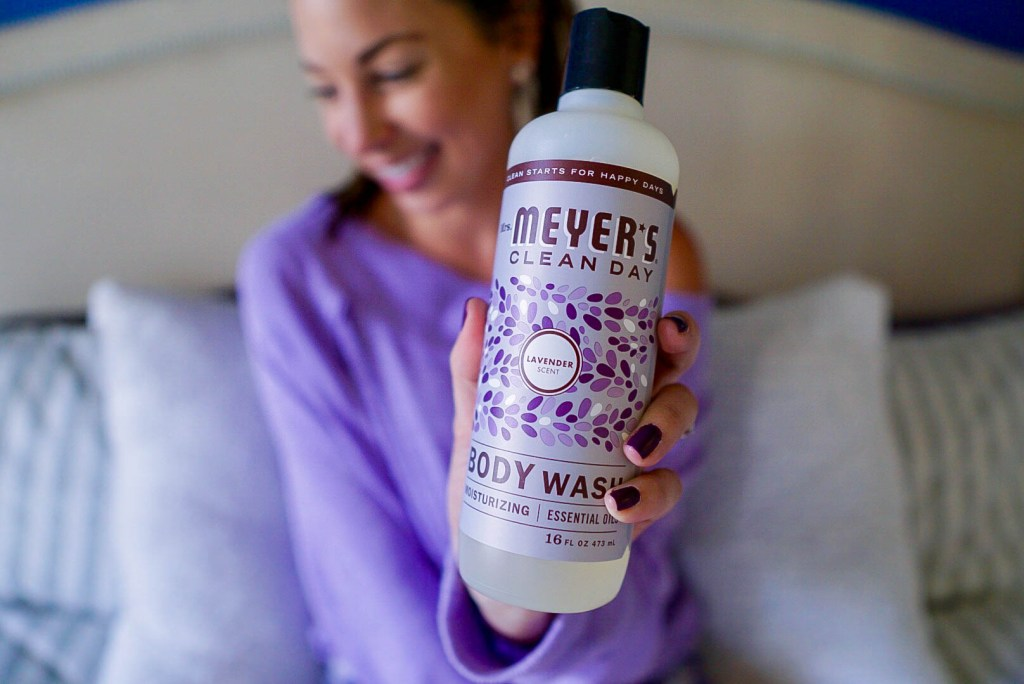Mrs. Meyer's Clean Day Body Wash, Mrs. Meyer's Lavender Body Wash, Mrs. Meyer's Products, Shower Upgrade, Shower Products, Bath and Body Products, Refresh Your Mind and Body, New Season, Refresh For Spring, Spring Upgrade, Spring Cleaning, Mrs. Meyer's Household, #ad #GotItFree #MrsMeyersBodyWash
