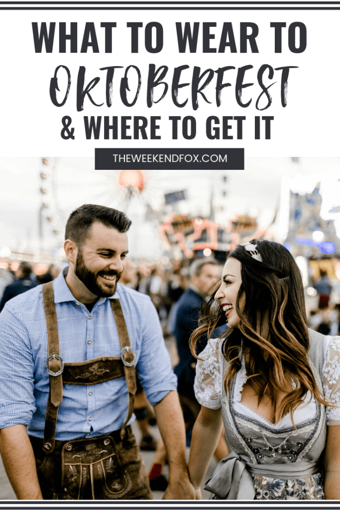 What to Wear to Oktoberfest & Where to Get It // Oktoberfest 2018, Oktoberfest Outfits, Dirndl, Lederhosen, Oktoberfest Attire, Oktoberfest Tradition, Oktoberfest in Munich, Tourists at Oktoberfest #oktoberfest #whattowear #oktoberfestfashion #oktoberfestmunich #munich #travelblogger #floridablogger #oktoberfest2018 #oktoberfest2019