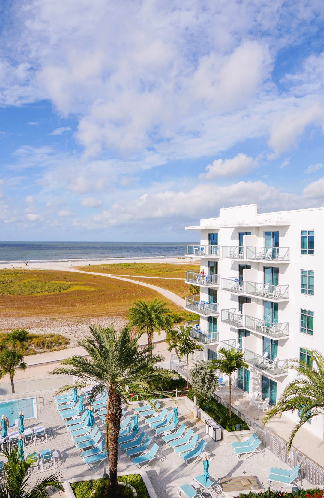 Treasure Island Beach Resort Views