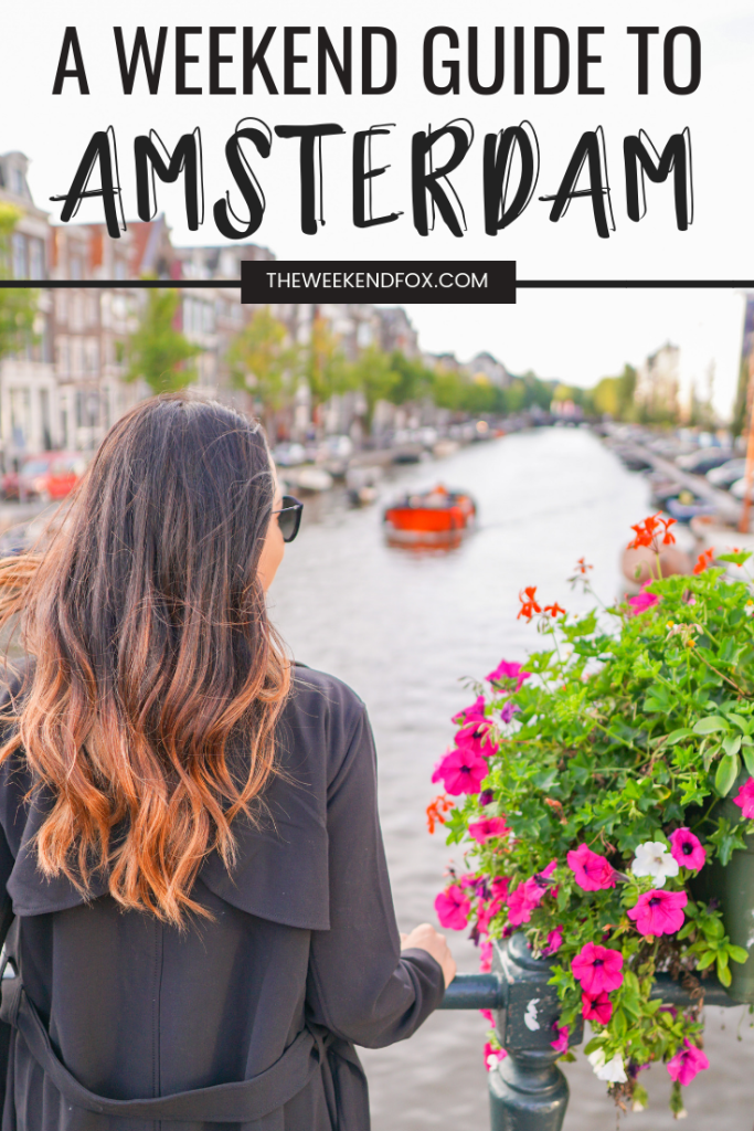 Travel Guide for a Weekend in Amsterdam // things to do in Amsterdam, Amsterdam travel guide, 3 days in Amsterdam, Amsterdam must-do's, what to do in Amsterdam, Amsterdam highlights #Amsterdam #Netherlands #WeekendGuide #TravelBlogger #visitAmsterdam #TravelGuide #Europe #TheWeekendFox