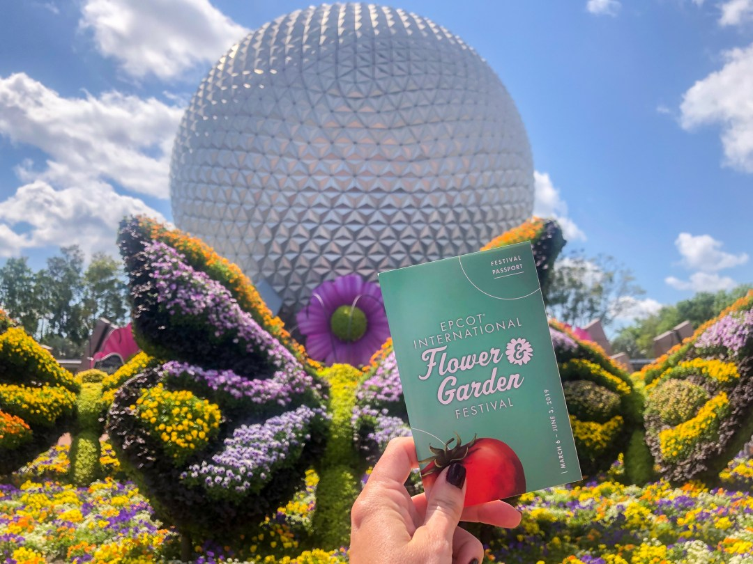 Foodie Favorites at Epcot's Flower and Garden Festival 2019