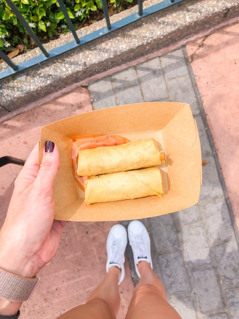 Vegetable Spring Rolls at Lotus House