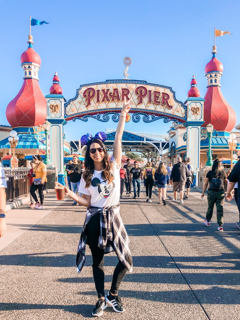 First-timer at Disneyland and California Adventure // Pixar Pier // Disneyland tips