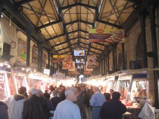 Athens Central Market: Varvakios Agora
