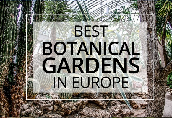 30 Beautiful Botanical Gardens in Europe