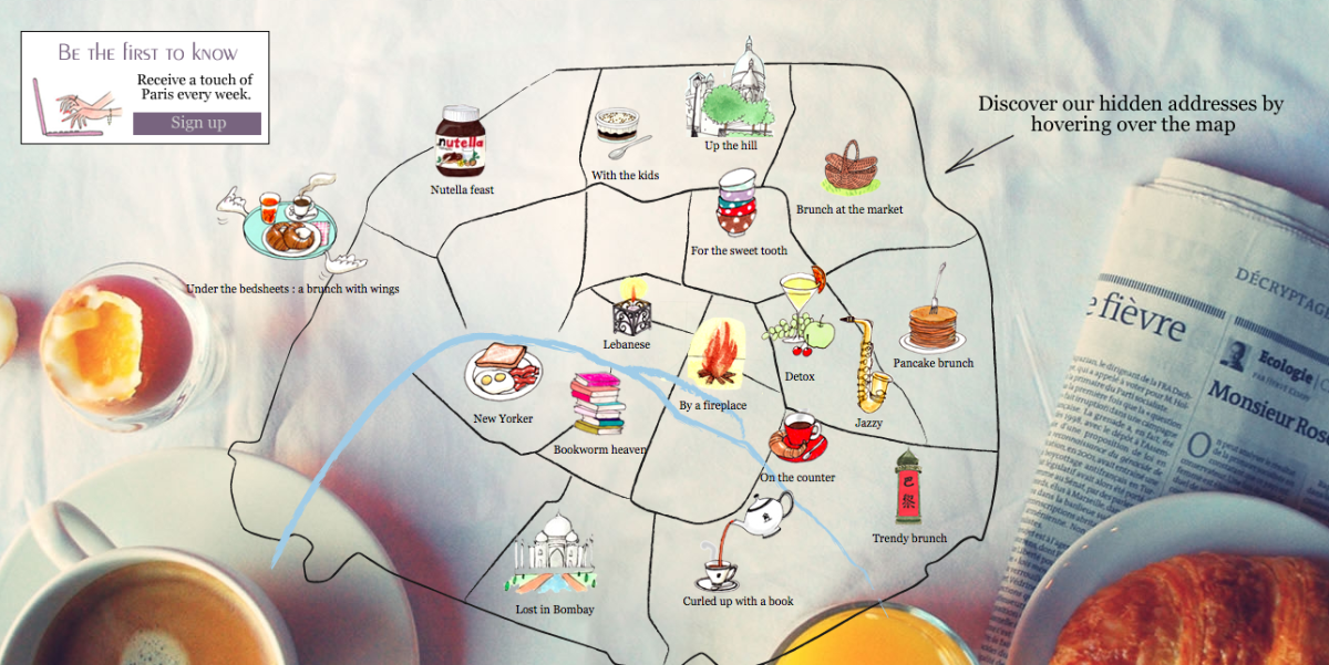 Going to Paris? We Have a Tip for You : mylittleparis-map