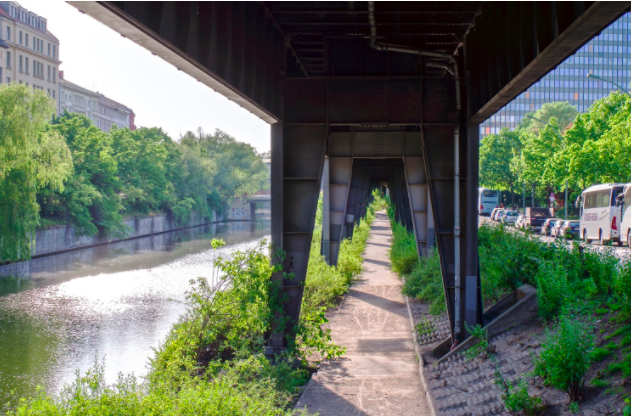 18 Urban Projects Like New York's High Line - reclaim rail & roads to parks - BERLIN Radbahn