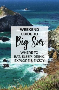 There is much more to do in beautiful Big Sur than just pass through on your way north or south along the Central California coast. Here are a few of our favorite places to pull over or stop for a day, weekend or maybe forever!