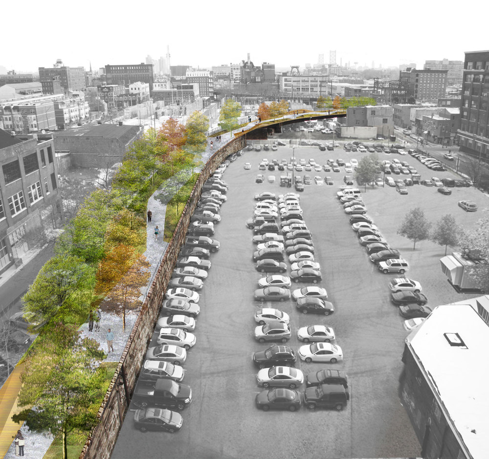 18 Urban Projects Like New York's High Line - reclaim rail & roads to parks- Philly Viaduct