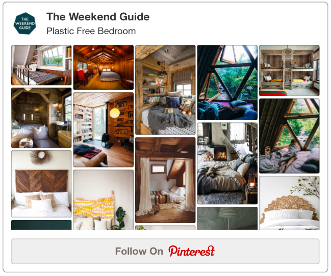 The Weekend Guide :: Pinterest :: Plastic-Free Bedroom - A Greener Bedroom - Ideas for a Healthier & More Eco-Friendly Sleep