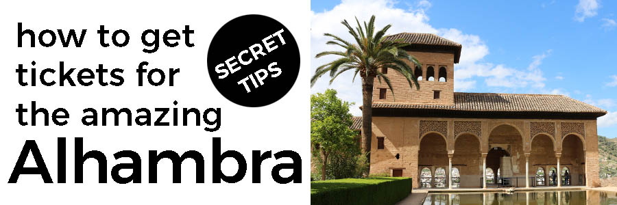 Visit the amazing Alhambra - we give our tips for getting tickets and enjoying the day