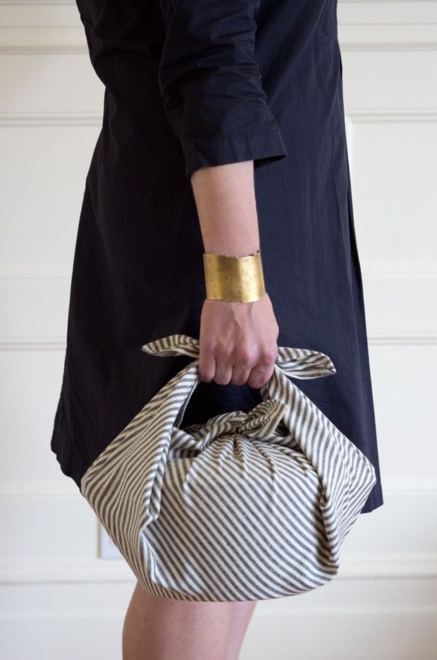 carry your lunch stylishly in an Ambatalia furoshiki cloth from quitokeeto.com