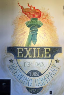 Craft Beer in Des Moines - greenbelt cycle routes in Iowa - Exile Brewery- theweekendguide.com