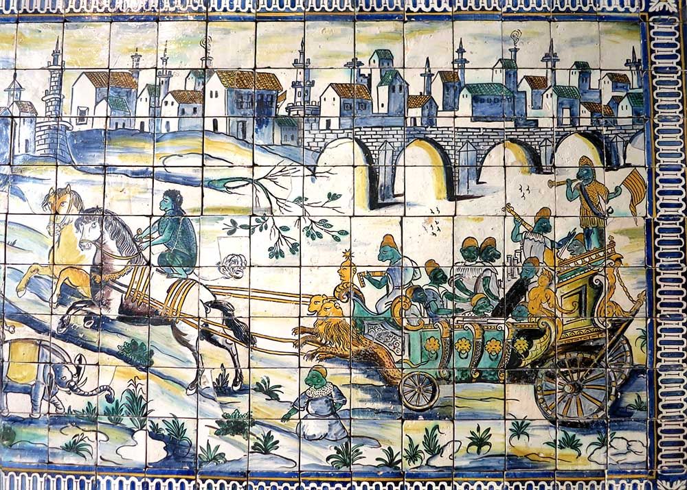 I stumbled across Public Domain Review when looking for information on a crazy weird tile panel I saw in Lisbon called Casamento da Galinha, a singerie.
