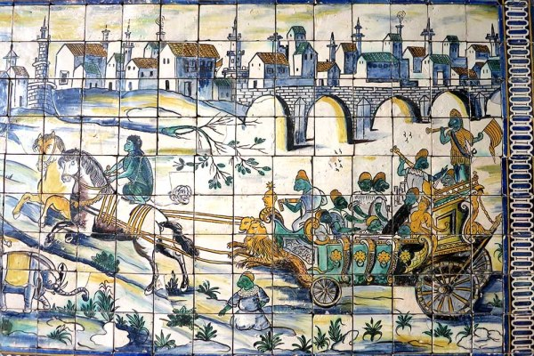 I stumbled across Public Domain Review when looking for information on a crazy weird tile panel I saw in Lisbon called Casamento da Galinha.