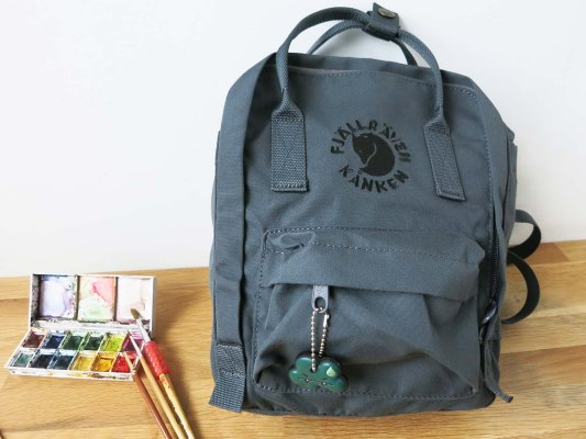 Art Day Out with Fjallraven Re-Kanken Mini