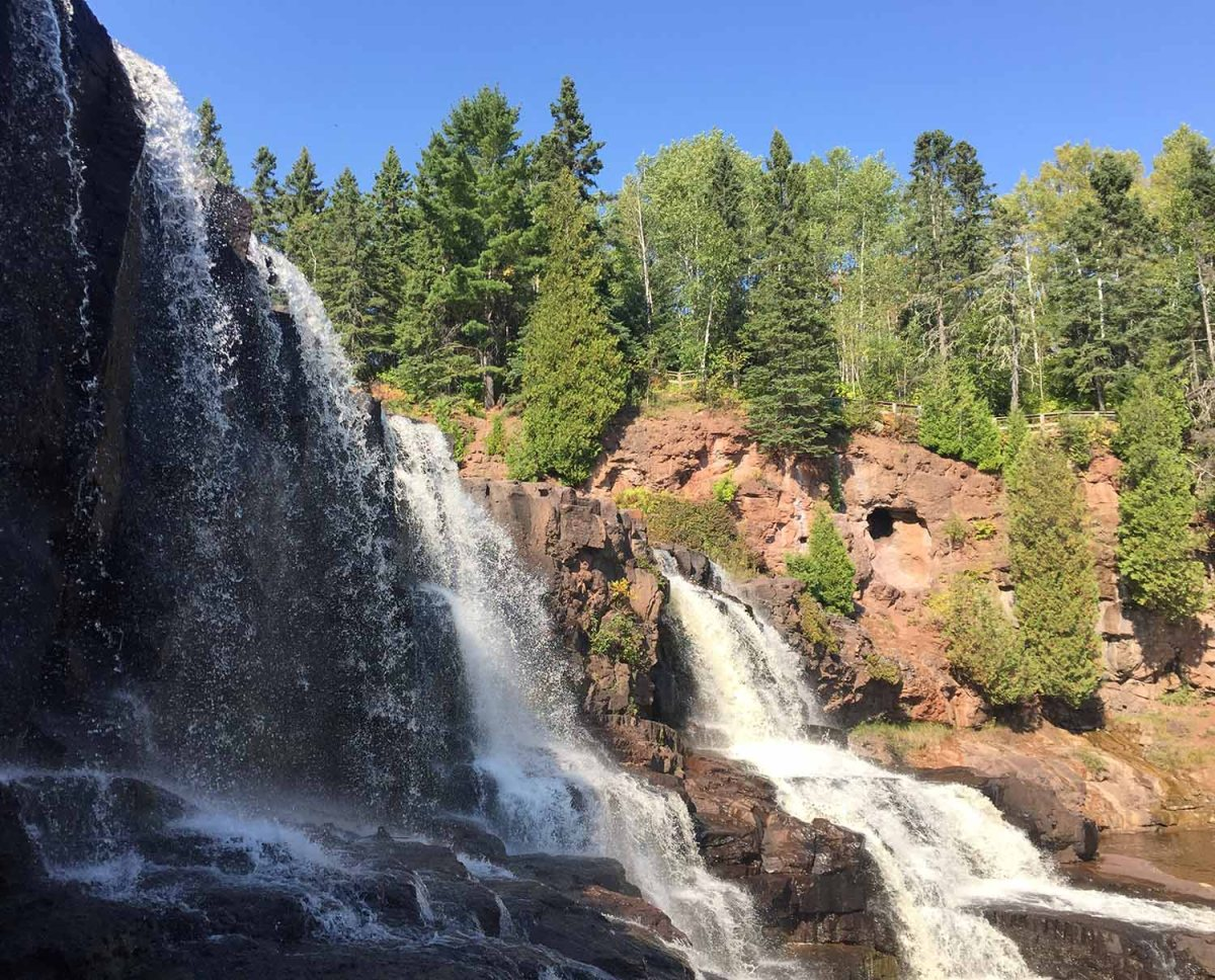 Gooseberry Falls - 10 waterfalls on Minnesota's North Shore - Minnesota waterfalls
