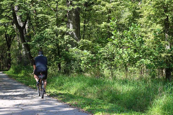 greenbelt cycle routes in Iowa - theweekendguide.com