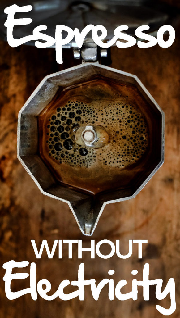 Ditch your Senseo or Nespresso! Let's make coffee without an electric machine! Yes, you can make coffee without electricity.