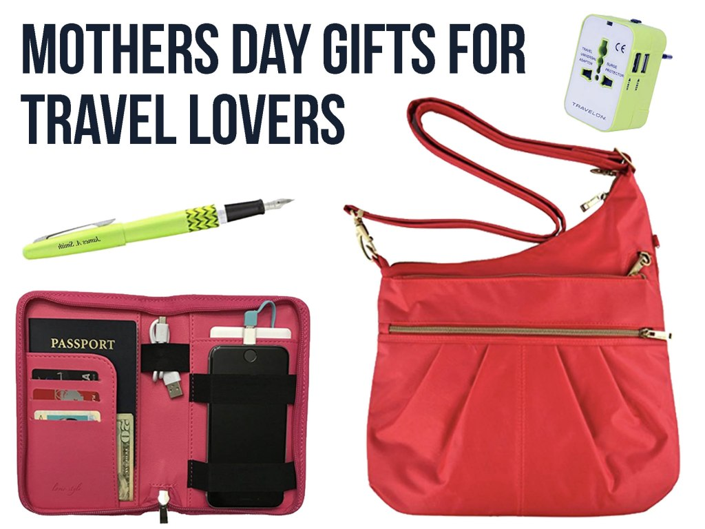15 Awesome Gifts for Moms Who Love to Travel: Mothers Day Gifts for Travelers
