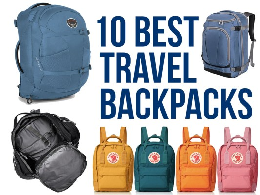 10 Best Travel Backpacks