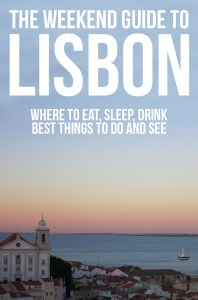 The Weekend Guide to Lisbon - Fun things to do in Lisbon + places to eat & sleep