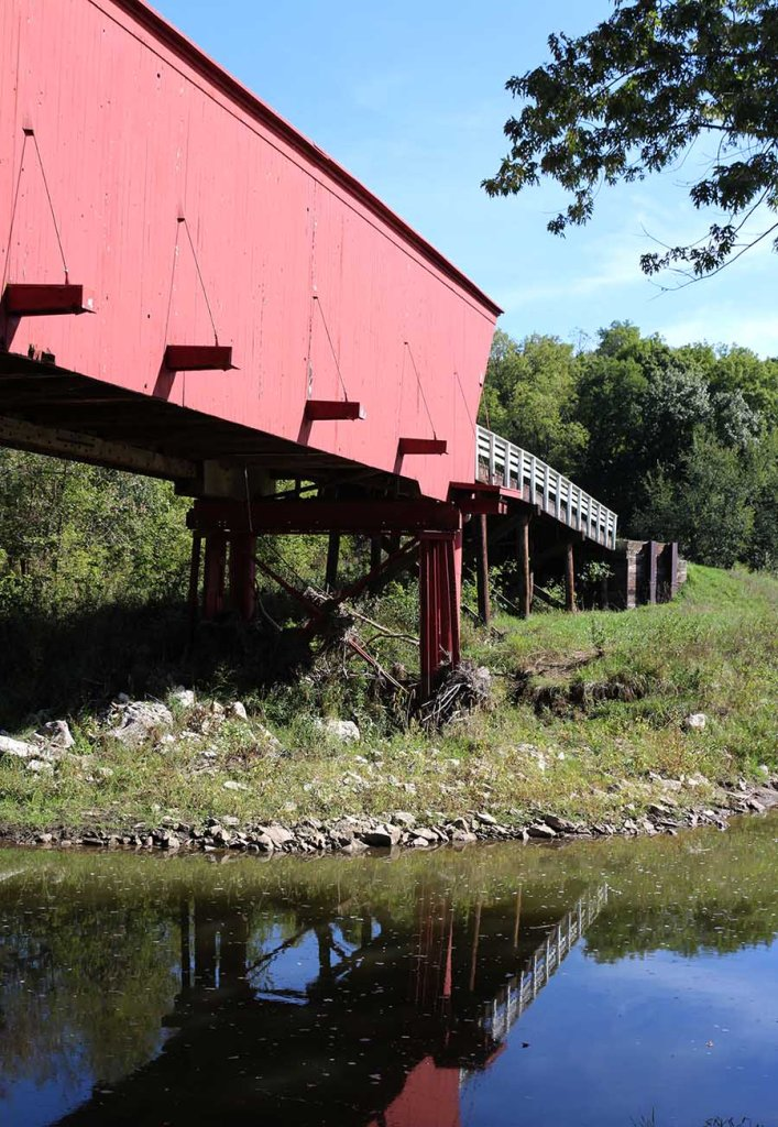 Guide to the Bridges of Madison County: visit historic wooden bridges plus things to do nearby