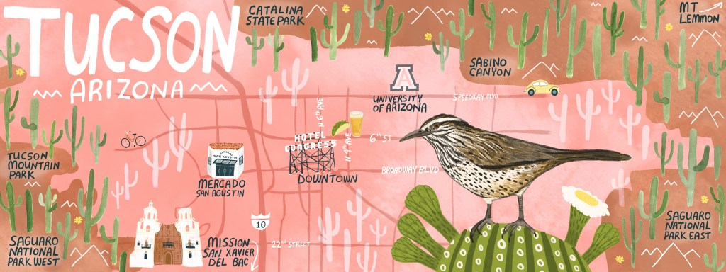 A travel guide to Tucson