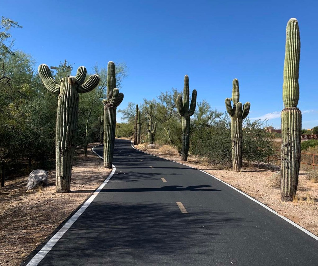 A travel guide to Tucson: Loop Path