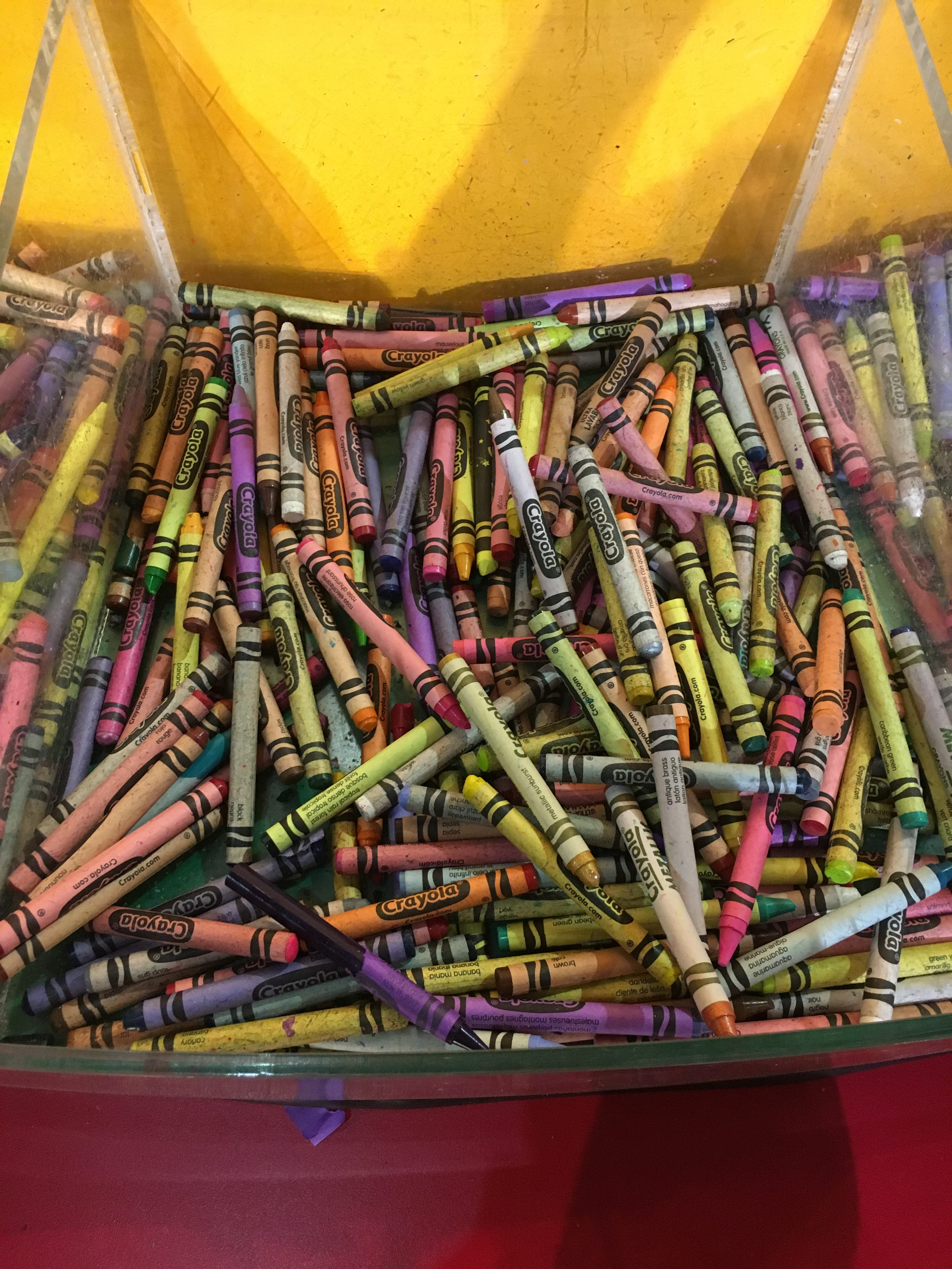 crayola experience with kids: crayons