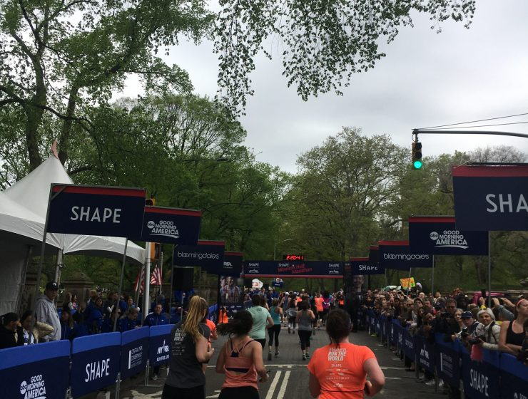 Shape Half-Marathon in Central Park