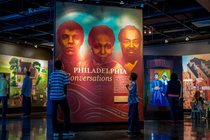 The African American Museum in Philadelphia with kids