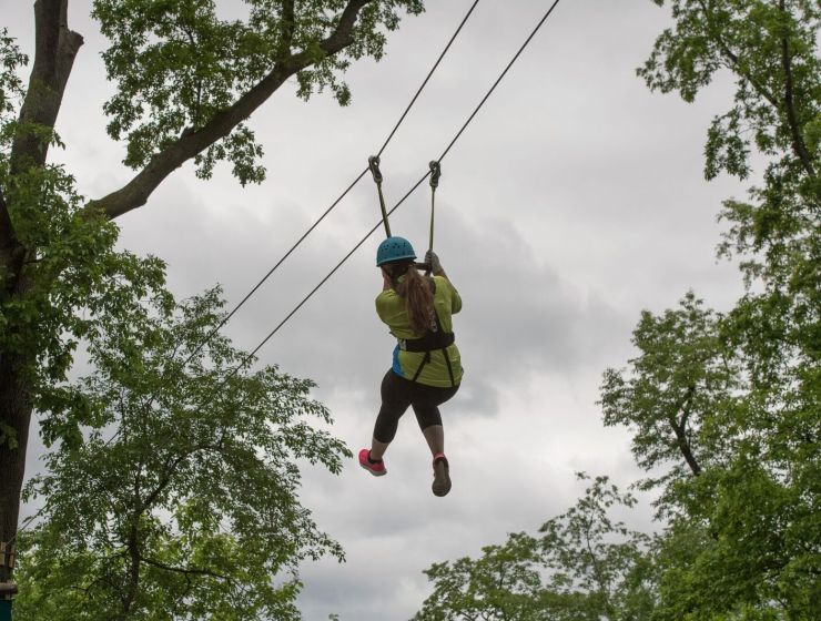 You Can Now Zipline and Climb at the Bronx Zoo