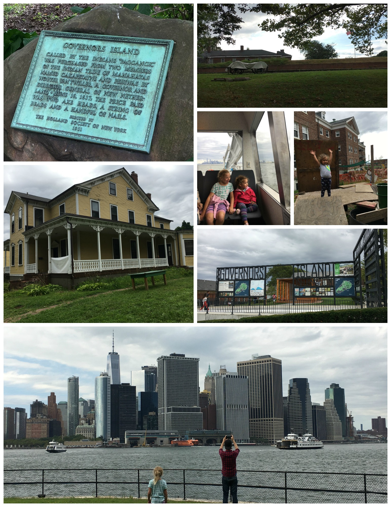 trip to governors island in nyc