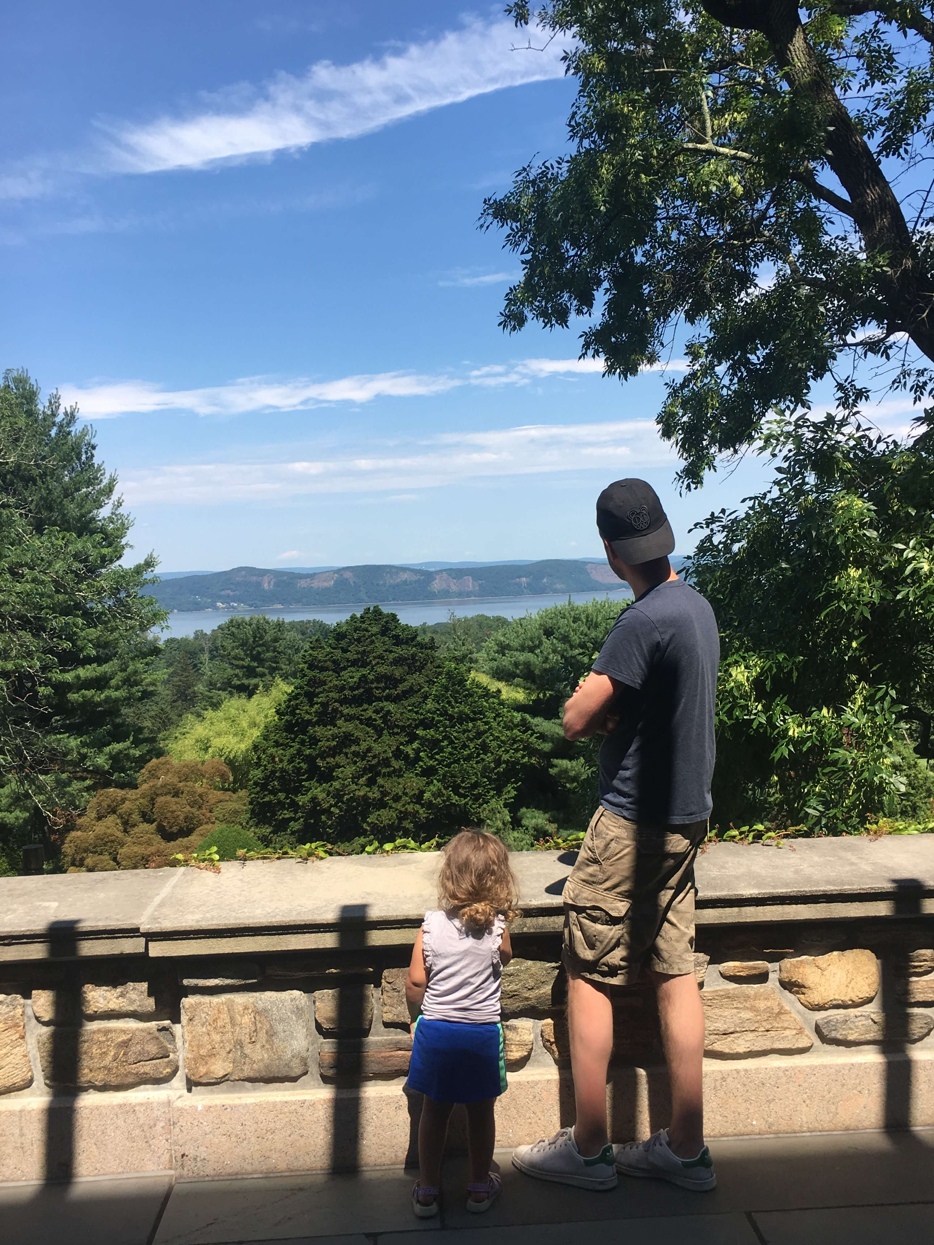 Kykuit views of hudson valley