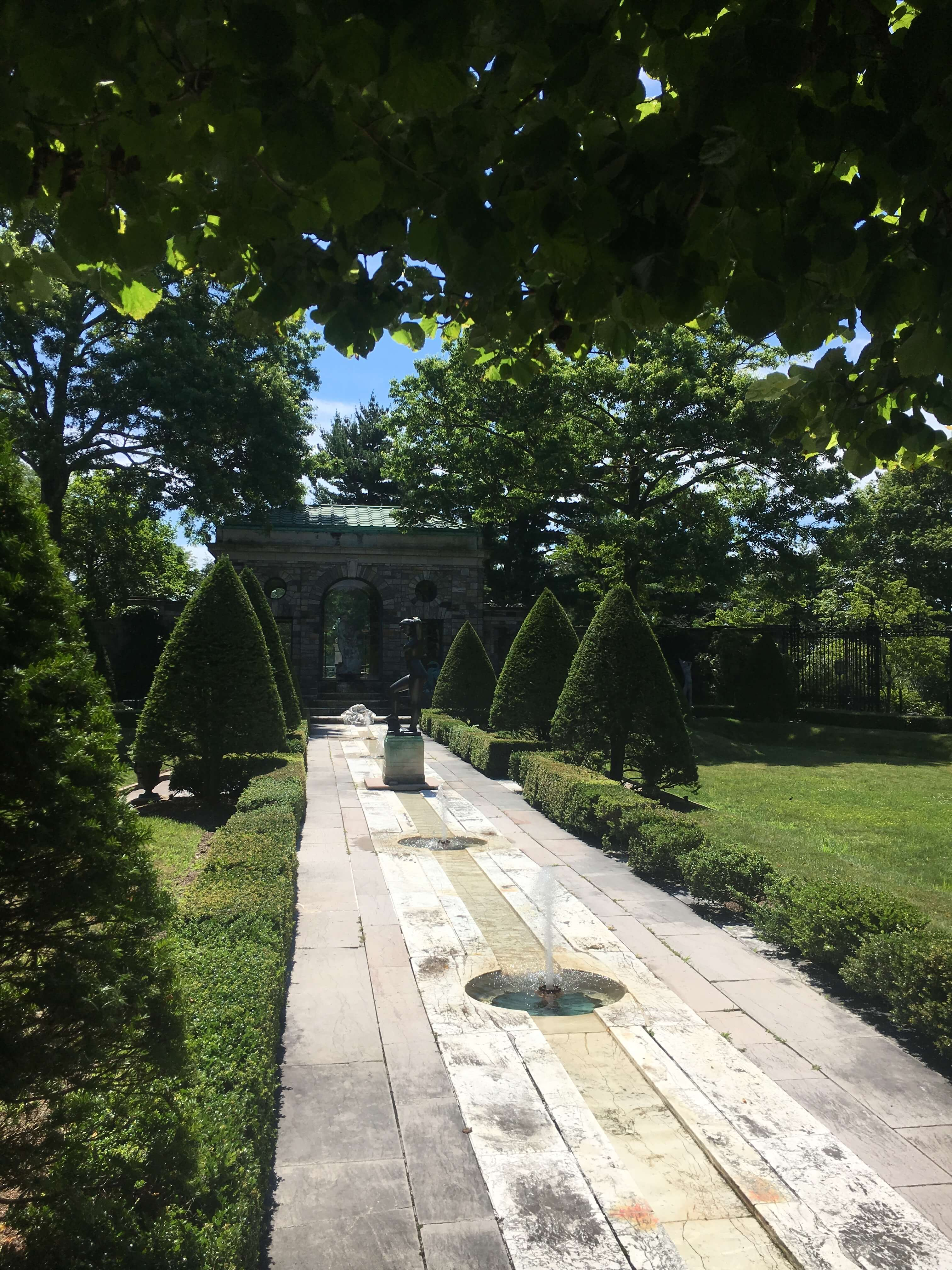 kykuit estate greenery