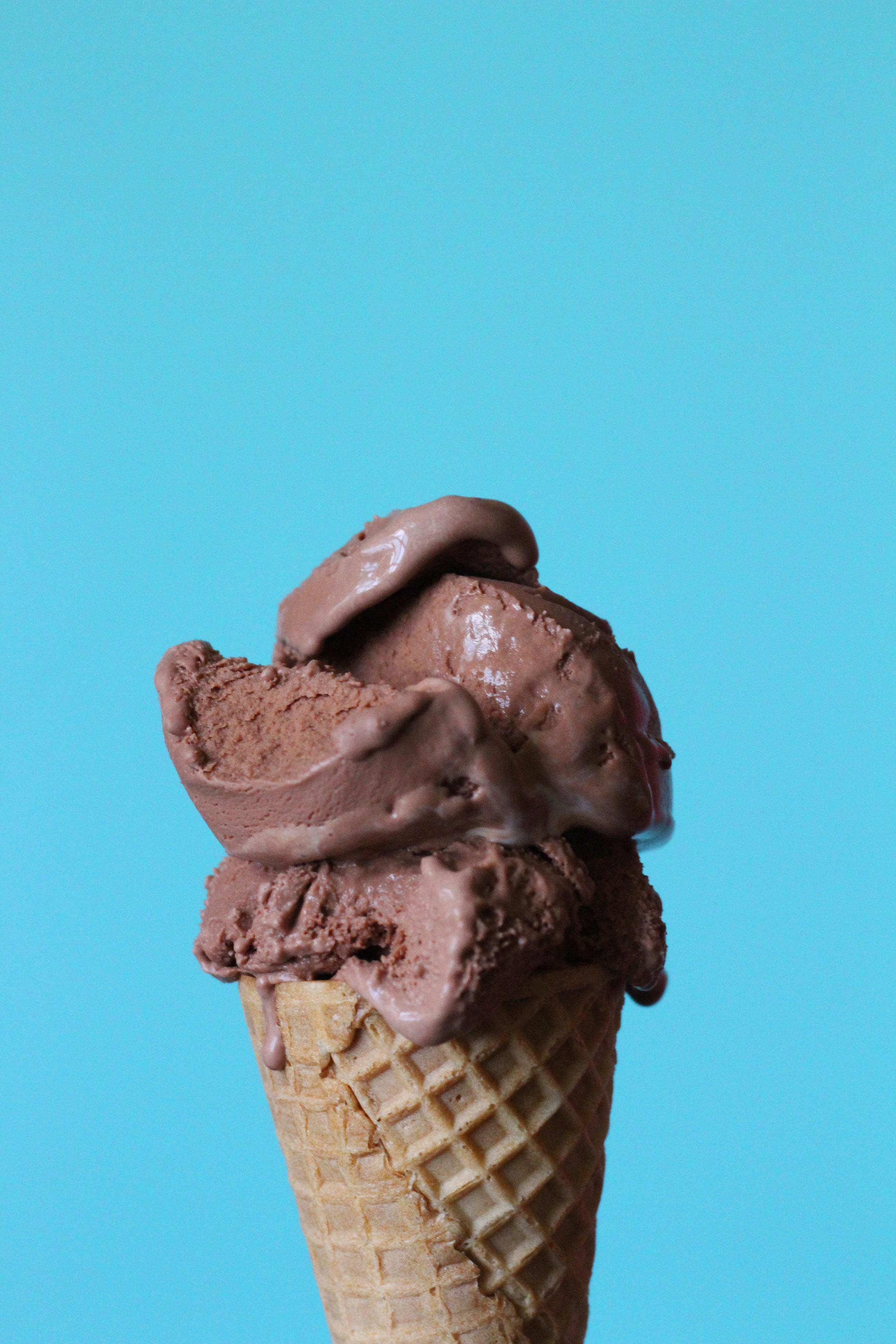 blue marble chocolate ice cream